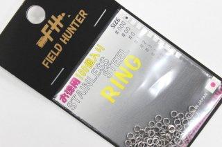フィールドハンター スプリットリング S.RING シルバー #000 徳用100本入り