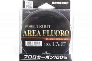ヤマトヨ エリアフロロ #0.5号 1.7lb