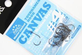 バリバス トーナメントフック CANVAS #4