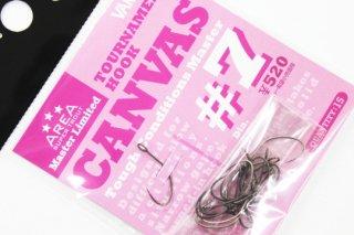 バリバス トーナメントフック CANVAS #7