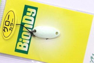 アングラーズシステム ビオンディ BionDy 1.1g #601 グロー