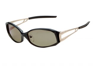 ZEAL OPTICS Vanq gaga F-1064 ブラック/ゴールド TVS