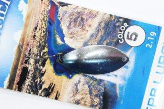 FPBルアーズ フロンティア 2.1g #5 青銀