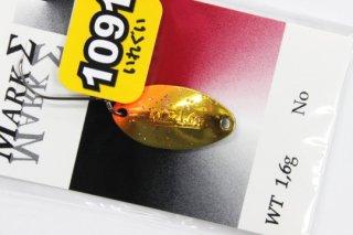 ValkeIN マークシグマ 1.6g #ゴールドエンド【1091】