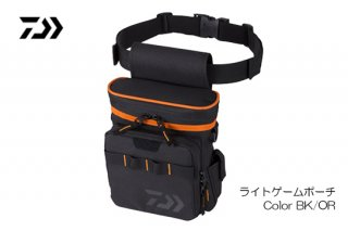 DAIWA ライトゲームポーチ #ブラック/オレンジ