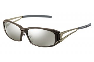 ZEAL OPTICS Vanq X F-1764 BROWN&GOLD TRUEVIEW FOCUS/SILVER MIRROR
