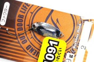FOREST ファクター Factor 0.9g #2 アルクスポンド焼津SP【1091】