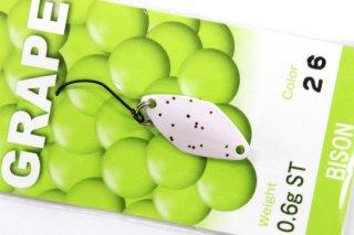 BISON GRAPE グレープ 0.6g #26 ライトホワイトピンクII
