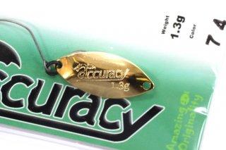 なぶら家 accuracy アキュラシー1.3g #NO.74 金の匙