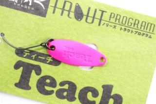ノリーズ TEACH 鱒玄人 ティーチ 0.5g #086 蛍光ピンク