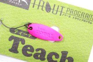 ノリーズ TEACH 鱒玄人 ティーチ 0.8g #086 蛍光ピンク