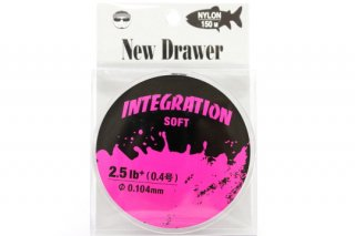 New Drawer ナイロンライン INTEGRATION SOFT 0.4号 2.5lb