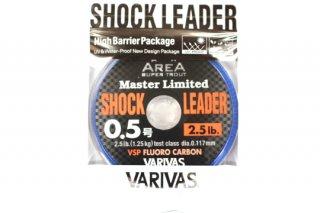 バリバス エリアマスター ショックリダー VSP フロロ #0.5号 2.5lb