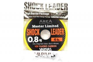 バリバス エリアマスター ショックリダー VSP フロロ #0.8号 4.0lb