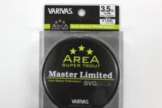 バリバス マスターリミテッド S.Tエリア SVG ナイロン #3.5lb 0.6号