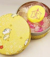 迎春えと缶(金) 「亥(いのしし)」