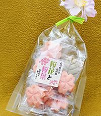 桜花と桜葉クッキー