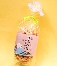 「日本の桜 桜味のあられ」