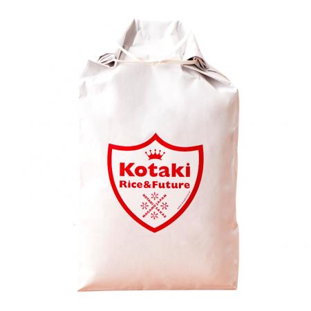 希少米!コタキホワイト5kg 定期配送便 x 6回 (配送料半額)