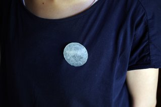 coin brooch