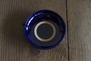 子どもカレー皿 ブルー
