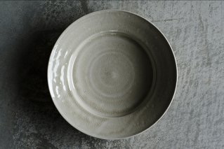 白磁リム深皿
