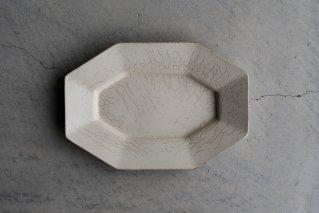 長八角皿(M)