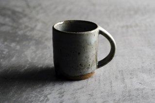 藁灰釉 マグカップ(薪窯)
