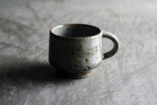 藁灰釉 コーヒーカップ(薪窯)