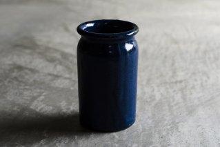 瑠璃釉 カトラリースタンド