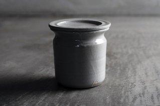 白磁味噌つぼ
