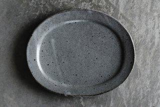 長石釉 オーバルプレートR