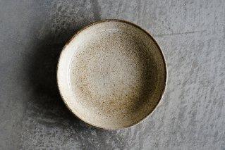 黄粉引 6寸皿