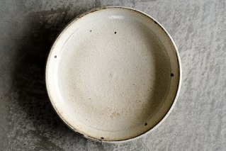 黄粉引 7寸皿