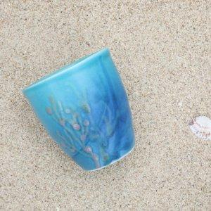沖縄のタンブラー おしゃれ 名入れ/珊瑚のカップ|おしゃれなギフト通販