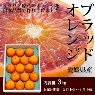 ブラッドオレンジ3kg