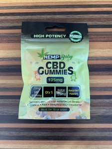HEMP Baby CBD GUMMIES from U.S.  CBD 125mg