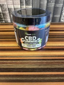 HEMP Baby CBD GUMMIES from U.S. CBD 2500mg