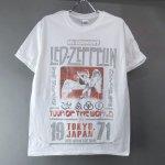 (L) レッドツェッペリン TOKYO 71 Tシャツ (新品) 【メール便可】