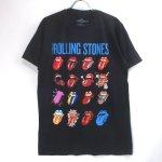 (L) ローリングストーンズ Evolution Blue & Lonesome Tシャツ(新品) オフィシャル【メール便可】