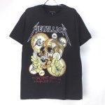 (M) メタリカ  Vintage Shortest Straw Tシャツ (新品)  オフィシャル【メール便可】