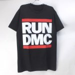 (L) RUN DMC Tシャツ (新品) オフィシャル【メール便可】
