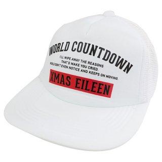 『WORLD COUNTDOWN』メッシュキャップ(WH)
