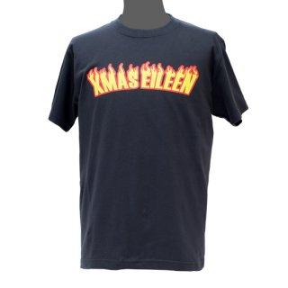 ファイヤー Tシャツ(黒)
