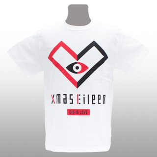 DIS IS LOVE EYE Tシャツ(白)