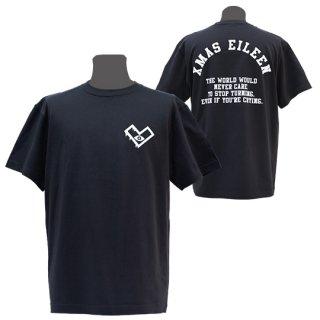 XE バックアーチTシャツ(墨)<br>【A/W】