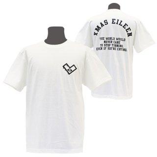XE バックアーチTシャツ(クリーム)<br>【A/W】