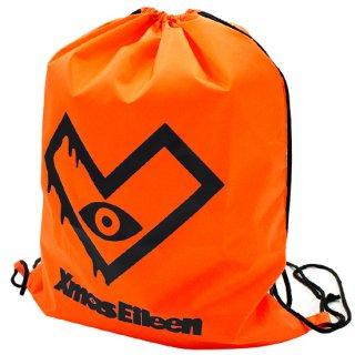 XE-ナイロンランドリーバック(オレンジ/ブラック)