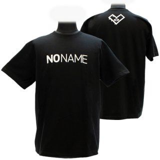 XE2019 NO NAME Tシャツ バックプリント(ブラック)<br>【N/N】