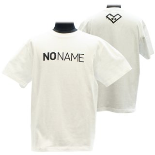 XE2019 NO NAME Tシャツ バックプリント(ホワイト)<br>【N/N】